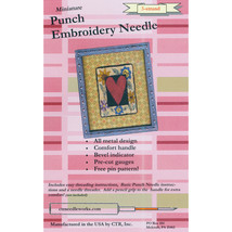 CTR Needleworks Miniature Punch Embroidery Needle-Red 3-Strand - $18.25