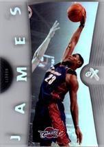 2006-07 Fleer E/X (E-X) #6 LeBron James - Cleveland Cavaliers - $25.00