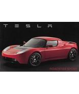 2010/2011 TESLA ROADSTER sales brochure catalog folder Sport Lotus Electric - $15.00