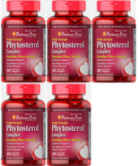 Lot of 5-Puritans Pride DBL STR Phytosterol Complex 2000mg-300 total sof... - $39.99