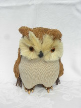 Pier 1 Imports Bristle Straw, Sticks Fall or Autumn Holiday Home Décor Owl - $24.99