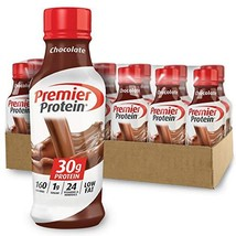 Premier Protein 30g Protein Shake, Chocolate, 14 Fl Oz Pack of 12 bottle