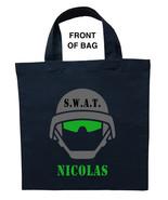 Swat Trick or Treat Bag, Personalized Swat Halloween Bag, Swat Team Loot... - $11.99+