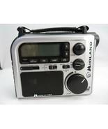 Midland Radio Flashlight Power Dynamo Hurricane safety Alert - $30.00