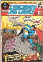 Superboy Comic Book #176 DC Comics 1971 FINE+ - $12.59