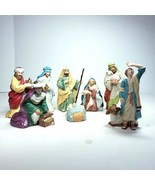 Hallmark Blessed Nativity Collection Keepsake Ornaments 8 Pieces 1998 19... - $69.99