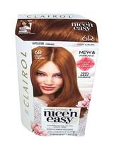 Clairol Nice N' Easy 6R Light Auburn Hair Color, 1 Application - New In Box - $15.10