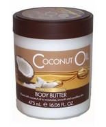CREIGHTONS COCONUT OIL SKIN DEFINITY BODY BUTTER 16.06 OZ TUB CREAM - $22.76
