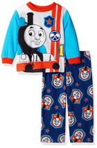 THOMAS the TANK ENGINE TRAIN Fleece Pajamas Sleepwear Set Toddler's Size 2T - $15.80