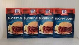 (4) McCormick Sloppy Joe / Joes Mix Best By Date of 09/2022 - $17.77