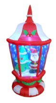 Christmas Lantern Light Santa Tree Inflatable Airblown Yard Decoration A... - €113,98 EUR