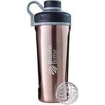 BlenderBottle Radian Insulated Stainless Steel Shaker Bottle, Copper, 26... - $20.79