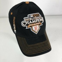 New Era San Francisco Giants 2010 World Series Champions Flex Fit Hat Bl... - $14.84