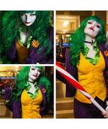 Women's Joker Costume Women Joker Jack Cosplay Costume Full Outfits - $139.00