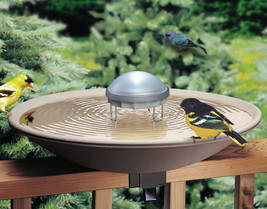Allied Precision Bird Bath Solar Water Wiggler Water Agitator for Birdba... - $37.56
