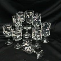 Pfaltzgraff Wyndham Water and Wine Goblets Lot of 10 - $32.29