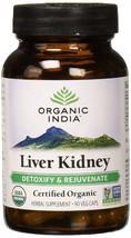 Organic India Liver Kidney Support 90 V-Caps - $96.99