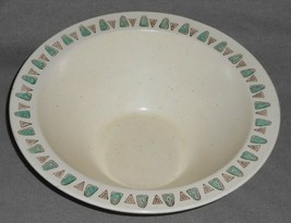 Mid Century - Metlox NAVAJO PATTERN Large Salad Bowl MADE IN CALIFORNIA - $49.49