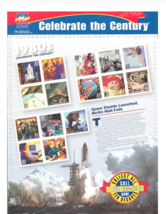 1980s Celebrate The Century - Sheet of Fifteen 33 Cent Stamps Scott 3190 - $11.52