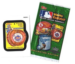 "2016 Wacky Packages Baseball Series 1 ""NY METS DELI MITTS"" Promo Sticker... - $1.00"