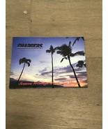 2002 San Diego CHARGERS STH Christmas Card Xmas Card Seau Brees Tomlinson - $35.00