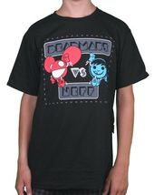 Neff Versus Deadmau5 Game Athletic Heather Grey or Black Sucker Face T-Shirt NWT image 4
