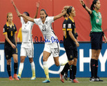 Christen Press signed 8x10 Photo First Goal Team USA vs Australia 2015 World Cup