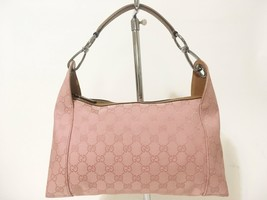 Gucci Monogram Canvas Shoulder Bag Pink - $594.00