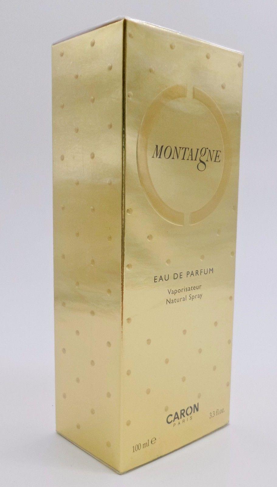 MONTAIGNE BY CARON 3.3 OZ/ 100 ML EAU DE PARFUM SPRAY FOR WOMEN - $165.00