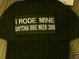 Daytona 2008,I Road Mine Bike Patch On New FLEX-FIT Cap - $18.91