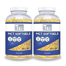 Kiss My Keto MCT Oil Capsules - Coconut Oil Softgel Pills, 300 Count, MC... - $49.99