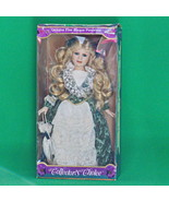 """Vintage Collectors Choice 16"""" Fine Porcelain Doll, In Box With Stand, (N... - $19.95"""