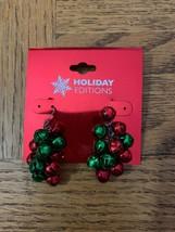 Vintage Christmas Bell Earrings - $18.50