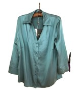 BNWT HOBBS London Silk Career Formal Occasion Evening Button Down Blouse... - $63.00