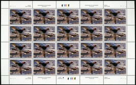 RW71, Mint VF Sheet of 20 $15.00 Duck Stamps Scarce! - Stuart Katz - $395.00