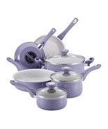 Farberware 16260 New Traditions 12 Piece Speckled Pot & Pan Cookware Lav... - $88.95