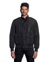 Jared Lang Washington Men Army Green Black Bomber Jacket Coat - $119.99