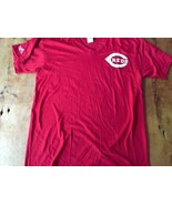 Cincinnati Reds Red T-Shirt Made In The Usa mint 80's Vintage Majestic - $17.09