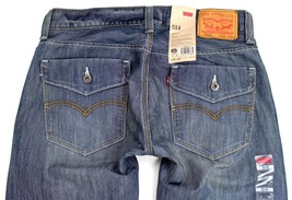 Levi's Strauss 514 Men's Original Slim Fit Straight Leg Jeans 0066-30010