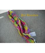 Crochet Rainbow Pet Leash-Free Gifts-Free Shipping 001a - $13.00