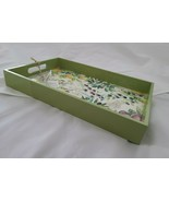 Michel Design Works Tuscan Grove Vanity Decoupage Wooden Tray Lacquered ... - $39.99