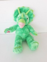 Build a Bear Triceratops Green Dinosaur - Plays Star Wars Theme Song  - $18.70