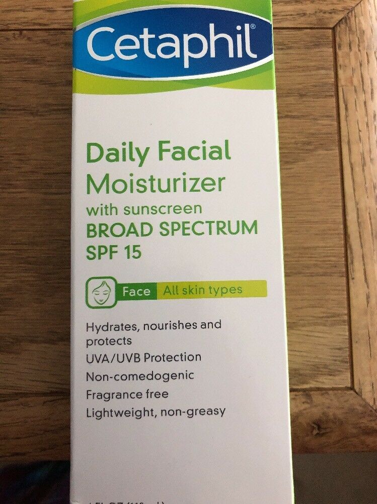 Primary image for Cetaphil Daily Facial Moisturizer SPF 15 4 oz