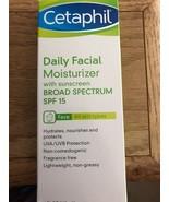 Cetaphil Daily Facial Moisturizer SPF 15 4 oz - $9.74