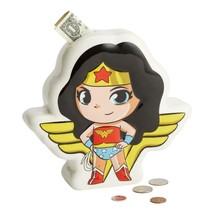DC Super Friends Wonder Woman Coin Money Bank Durable Dolomite
