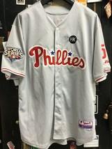 Philadelphia Phillies #51 Ruiz 2009 World Series Majestic MLB Sewn Jersey Sz 56 - $58.80