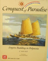 Conquest of Paradise Empire Building in Polynesia 500A.D. GMT 2007 Unpunched - $25.69