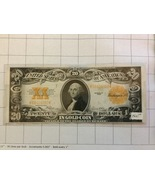 1922 $20 Dollar Gold Certificate AU to Unc. - $1,300.00