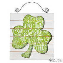 St. Patrick's Day Wall Hanging - $19.36