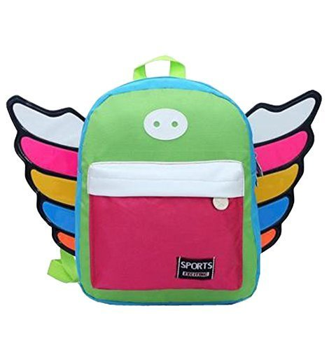 Korean Fashion Infant Knapsack Toddle Backpack Kindergarten School Bag Red